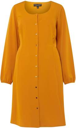 Dorothy Perkins Womens **Dp Curve Yellow Tea Dress