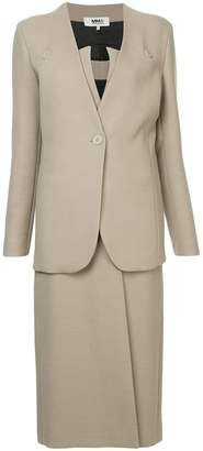 MM6 MAISON MARGIELA two-piece skirt suit