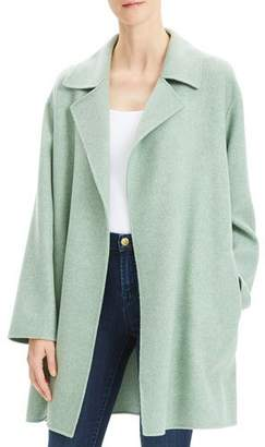 Theory Oversized Wool-Cashmere Melange Jacket