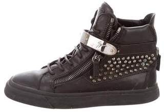 Giuseppe Zanotti Studded High-Top Sneakers