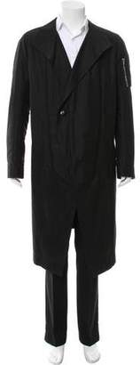 Rick Owens Satin Convertible Jacket