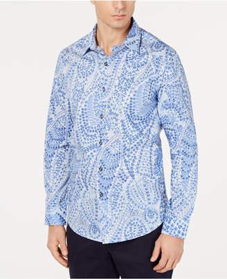 Tasso Elba Men Paisley Shirt