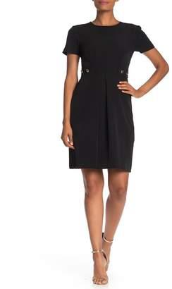 Trina Turk Perla Short Sleeve Fit & Flare Dress