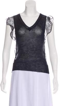 Nina Ricci Cashmere & Silk Top