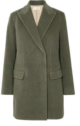 The Row Mewey Wool-blend Twill Coat - Green