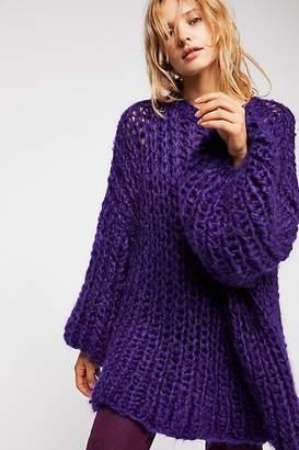 Loopy Mango Rib Sweater