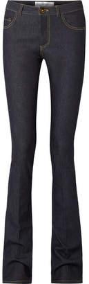 Victoria Beckham Victoria, Mid-rise Flared Jeans - Mid denim