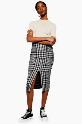 Topshop **Split Front Pencil Skirt by Boutique