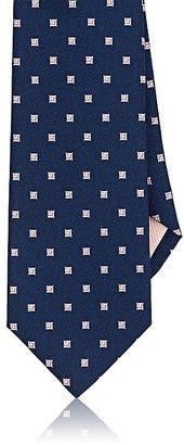 Fairfax Men's Diamond-Print Silk Necktie $145 thestylecure.com