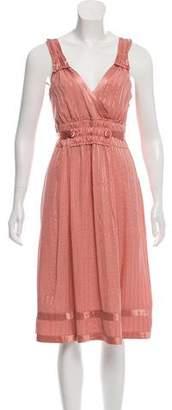 Marc by Marc Jacobs Silk Midi Dress