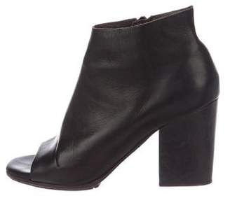 Coclico Open-Toe Ankle Booties