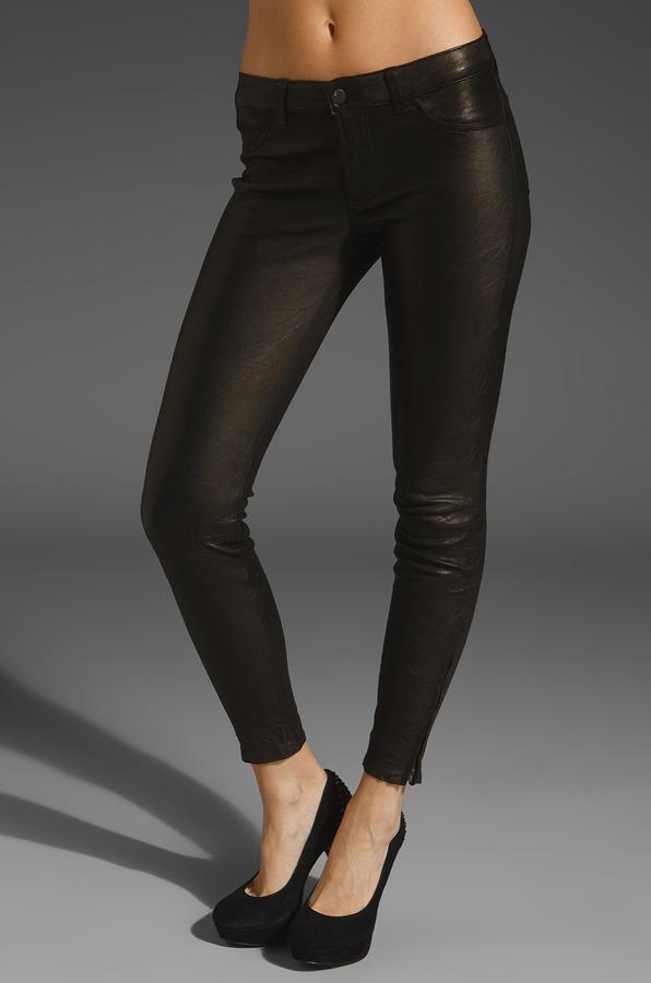 J Brand Leather Legging