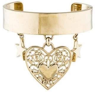 Elie Saab Heart & Star Charm Cuff