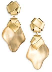 Alexis Bittar Roxbury Muse Folded Knot Clip Earrings