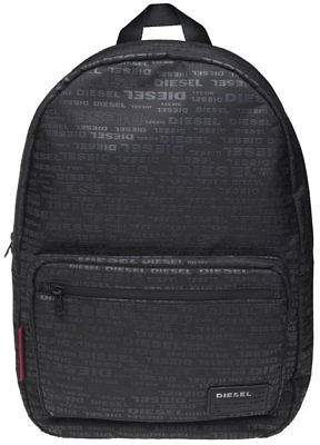 aec989bf36 at eBay Fashion Outlet · Diesel New Mens Black Discover Polyester Backpack  Backpacks