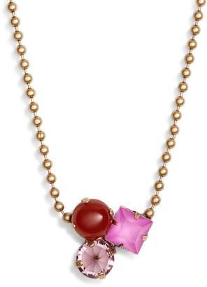 Loren Hope Harlow Cluster Crystal Necklace