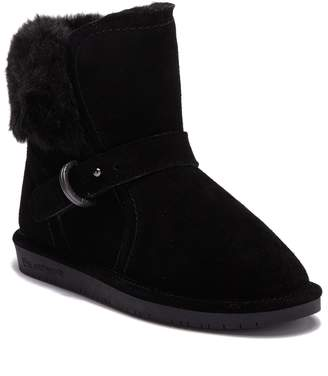 BearPaw Koko Buckle Strap Genuine Wool Lined Boot (Little Kid & Big Kid)