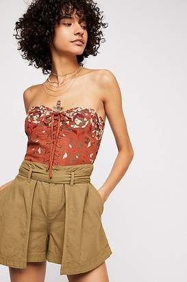 Red Hot Summer Corset Top