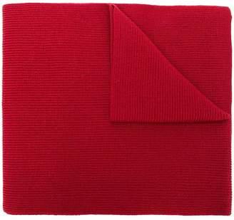Y-3 logo patch scarf