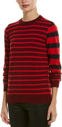 Derek Lam 10 Crosby Rib Trim Sweater