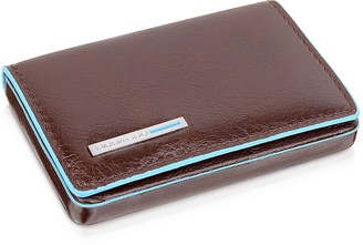 Piquadro Square Leather Card Case