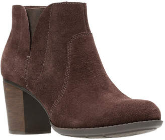 Clarks Collection Enfield Senya Leather Bootie