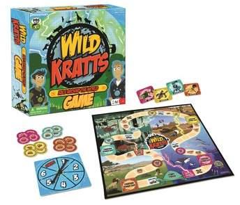 Pressman Toy Wild Kratts Race Around The World Game