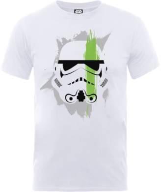 Star Wars Paintstroke Stormtrooper T-Shirt - White