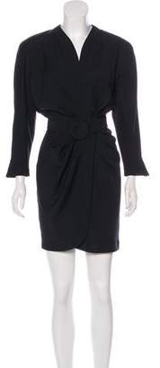 Thierry Mugler Vintage Belted Mini Dress