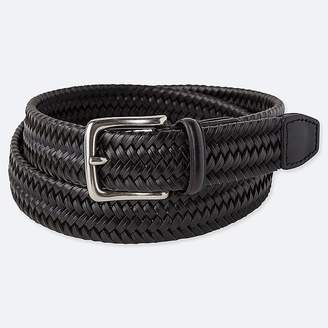 Uniqlo Men's Bonded Leather Stretch Mesh Belt