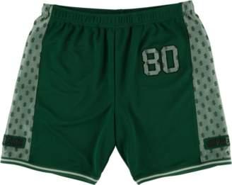 Supreme Monogram Shorts - 'SS 18' - Dark Green