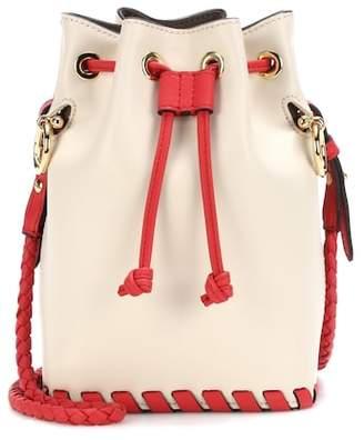 Fendi Mon Trésor Small leather bucket bag