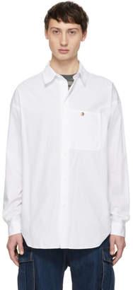 Acne Studios White Bla Konst Glanni Shirt