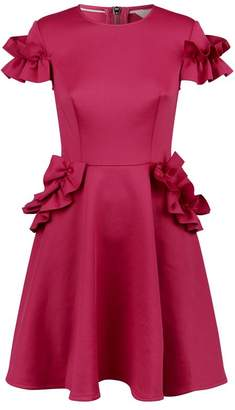 Ted Baker Luuciee Ruffle Skater Dress