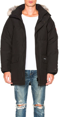 Canada Goose Emory Parka with Coyote Fur