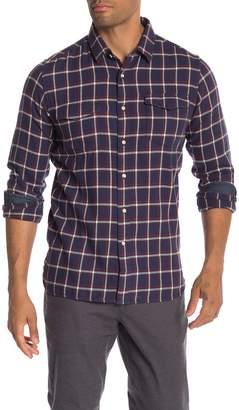 Knowledge Cotton Apparel Flannel Checkered Shirt