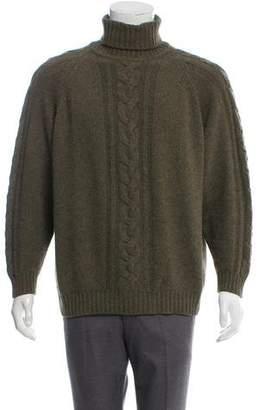 Luciano Barbera Cashmere Turtleneck Sweater