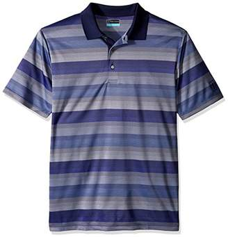 PGA TOUR Men's Big and Tall Short Sleeve Essential Color Block Polo