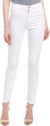 Joe's Jeans Charlie White High-Rise Skinny Leg