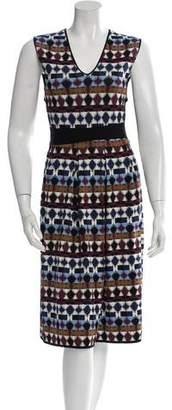 No.21 No. 21 Patterned Knit Dress