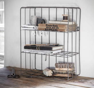 Co The Forest & Industrial Wire Wall Shelf