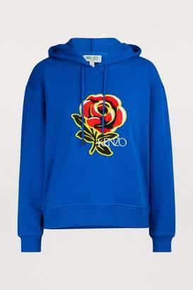Kenzo Flower print hoodie