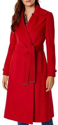 Karen Millen Belted Double-Breasted Coat - 100% Exclusive
