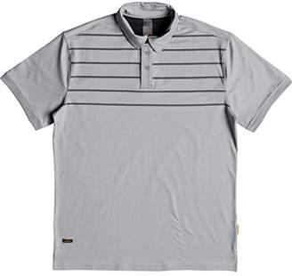 Quiksilver Men's Striped Reel Backlash Polo Knit Top