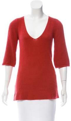 Theory Cashmere V-Neck Sweater