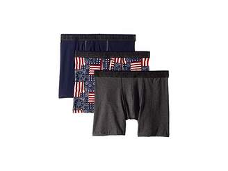 U.S. Polo Assn. Blue Collection 3-Pack Stretch Boxer Brief Men's Underwear