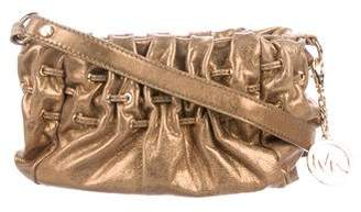 MICHAEL Michael Kors Metallic Leather Crossbody Bag