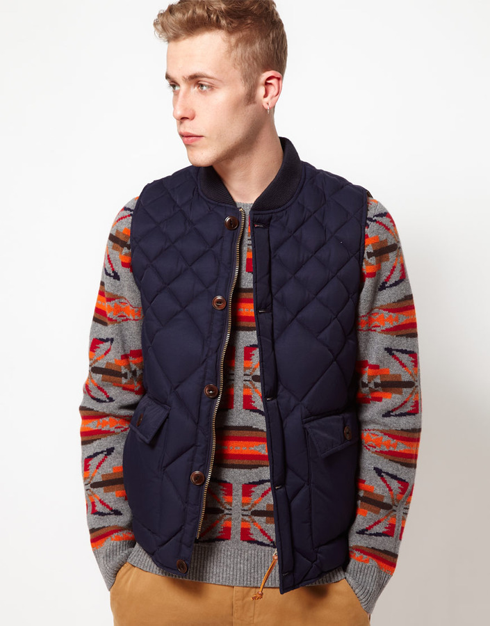YMC Gilet With Quilting