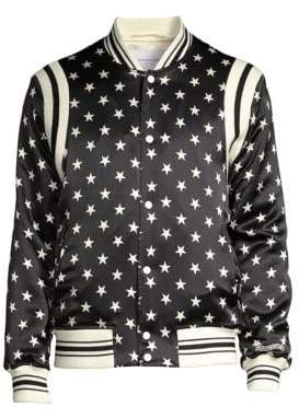 Ovadia & Sons Star Silk Bomber Jacket