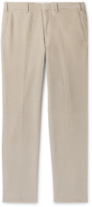 Brioni Tapered Cotton-Corduroy Trousers